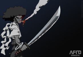 Afro Samurai by Angelic-Breaker