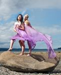 Escura and Lizbit, Phanny Bay by LittleBitLizbit
