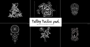 Tattoos Texture Pack by Marysse93