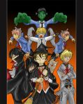 Ouran Host club Halloween by Lessonguy