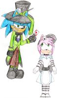 Hatter and Alice by FeistyFelioness