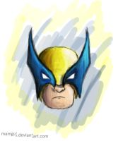 Wolverine by Mamgui