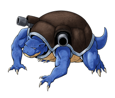 No. 9 - Blastoise by Blazbaros