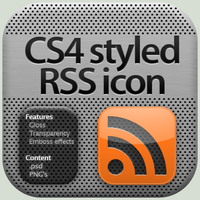 CS4 styled RSS icon by YaroManzarek