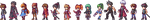 Anagram Sprites by Lacroa