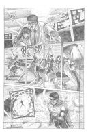Superman try-out page 2 by jep0y