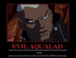 YJ Demotivator: Aqualad by SilverZeo
