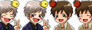 APH: Spain + Prussia Icon by sirohikari