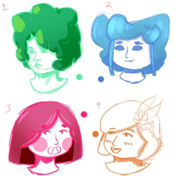 Sketch Faces 1 by Maverick-Maven