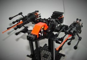 LEGO Combat Spaceship by spanglidermish