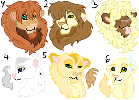 Lions For Sale Or Trade CLOSED by Sarahostervig