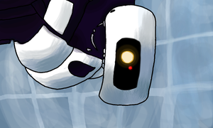 GLaDOS by TheUltimateFangirlXD