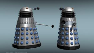 50th Anniversary Dalek by Jim197