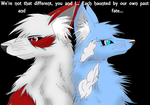 We're not that different by RedMoon97