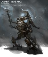 Combat Bot mk2 by alexdrummo