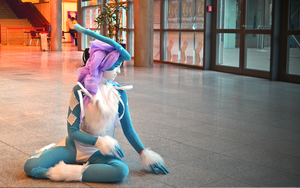 Beautiful Silence (Suicune Cosplay) by Cita-la-Star