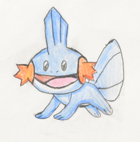 Mudkip by doodle-guy7