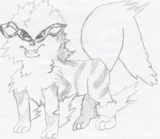 Arcanine by zeldafanatic49