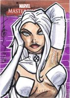 MM2 AP Sketch Card White Queen by Hodges-Art