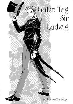 Ludwig in tailcoat by LemonPo