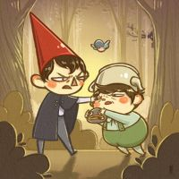 Over The Garden Wall Print by weiliwonka