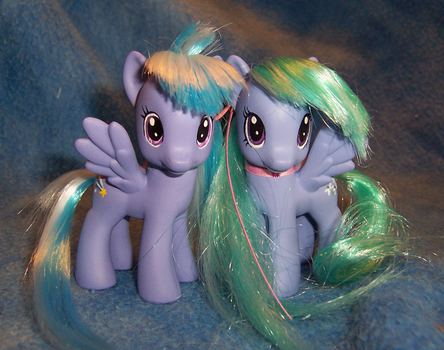 Cloudchaser and Flitter by Alipes