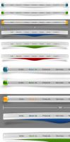 Free Website Navigation Menu by isfahangraphic