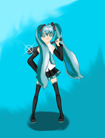 The Littlest Hatsune... by Hana-Maehata