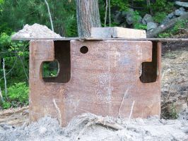 dug up pipe stock by WKJ-Stock