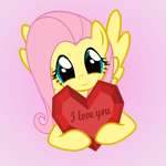 Fluttershy loves you by GAlekz