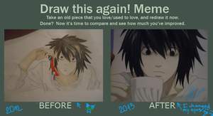 Draw it Again Meme by coderra4ever