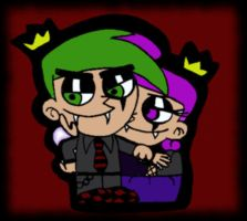 Cosmo And Wanda - Dark Ver. by Martyna-Chan