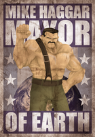Mike Haggar Grunge Version by EricHetherington