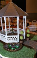 WIP Gazebo and Garden by MayEbony