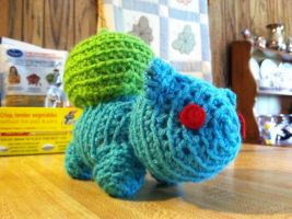 Bulbasaur Amigurumi - Commish by ChurlBuddeh
