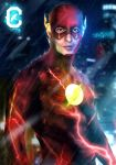 Ezra Miller as The Flash by mubassam