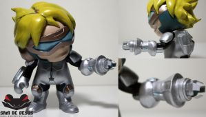 chibi pulse fire ezreal by samdejesus