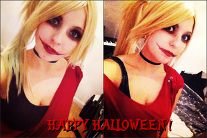 Harley Quinn HALLOWEEN by Dragunova-Cosplay