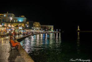 Harbour of Chania by TasosP-Photography