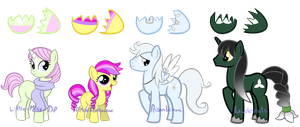 Pony Egg Adopts //CLOSED// by Rio-a