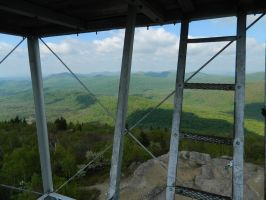 Fire Tower on Hadley Moutain by ThirdManOut