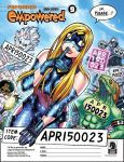 EMPOWERED vol.9 (pre)order-form printout by AdamWarren