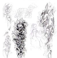 sketch for tattoo by daisyamnell