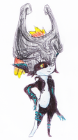 hand-on-hip Midna by Sophia824