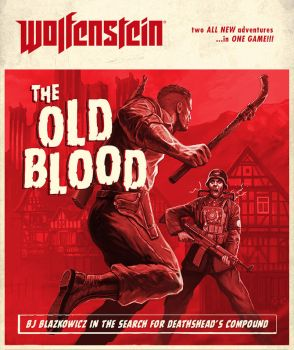 Cover artwork for Wolfenstein The Old Blood by torvenius