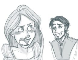 Tangled Sketches by sunni-sideup