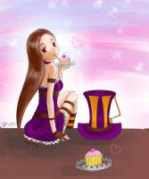 Caitlyn and Cupcakes by bunnify