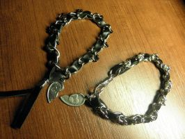 Trash and Chaos Bracelets for Him and Her by HSM-Version-42a