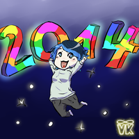 Happy New Year 2014 by VK94