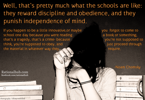 Modern Education and Independence of Mind by rationalhub